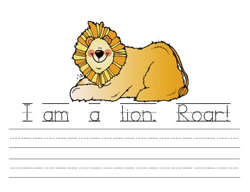 My Ll Book {letter study / sight words am}
