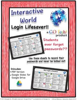 GO Tech! My Login Lifesaver