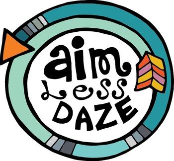 Aim Less Daze Logo
