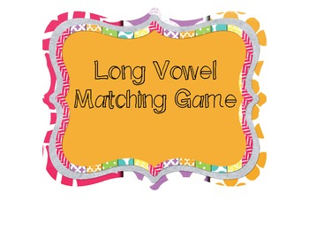 My Long Vowel Sort