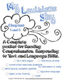 My Louisiana Sky {Ch. 5 & 6} complete packet for Reading, Responding, & Language
