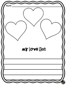 My Love List