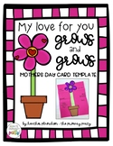 My Love for You Grows and Grows - Mother's Day Card