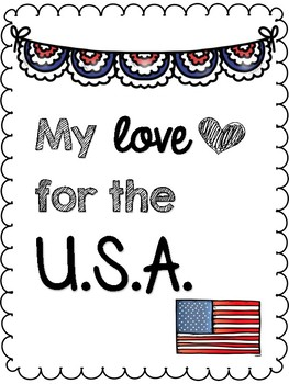 My Love for the U.S.A.