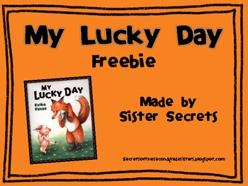 My Lucky Day [Reading and Writing]