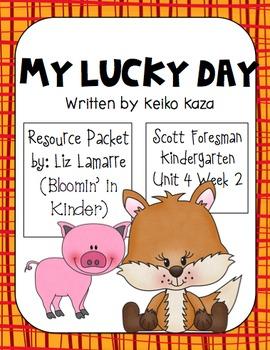 My Lucky Day Kindergarten Scott Foresman Resource Packet