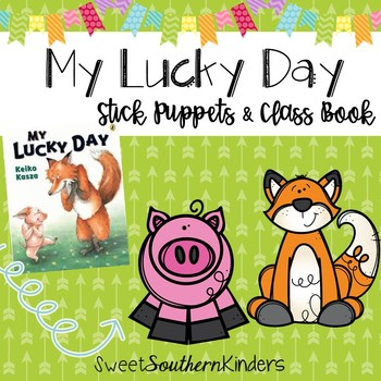 My Lucky Day Stick Puppets & Writing Activity St. Patrick's Day Activities