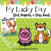 My Lucky Day Stick Puppets & Writing Activity St. Patrick'