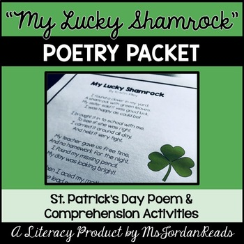 """My Lucky Shamrock"" (Seasonal Poetry Packet)"