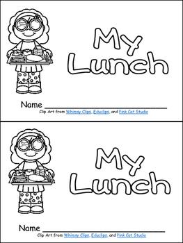 My Lunch- Nonfiction Leveled Reader- Level B Kindergarten
