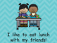 My Lunch- Nonfiction Shared Reading- Level B Kindergarten