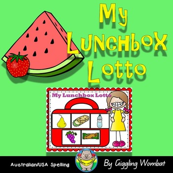 My Lunchbox Lotto Game