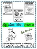 My Main Idea Journal