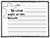 """""""My Many Colored Days"""" Follow-Up Activity"""