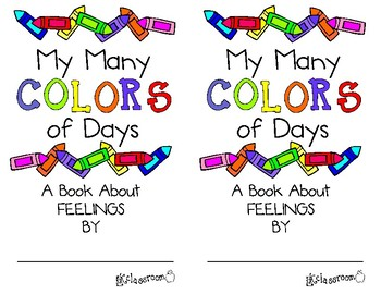My Many Colored Days Mini Book by Laura Kelly Classroom | TpT
