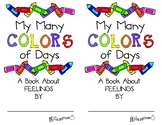 My Many Colored Days Mini Book