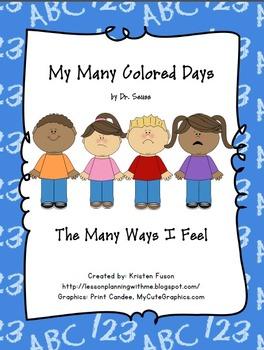 My Many Colored Days: The Many Ways I Feel