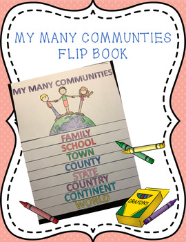 My Many Communities Flip Book