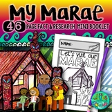 My Marae Visit {A booklet of activities about the Marae, Powhiri & Wharenui}