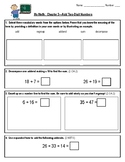 My Math Chapter 3 Test 2nd Grade Add Two-Digit Numbers