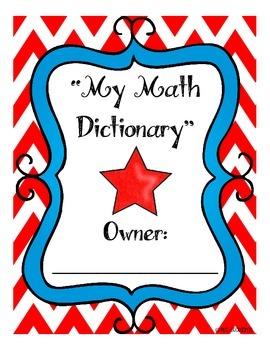 {My Math Dictionary}