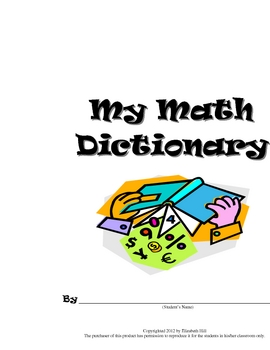 My Math Dictionary
