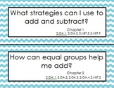 My Math Essential Questions for Second Grade