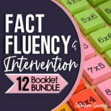 Mastering Multiplication Facts Bundle   Math Facts Fluency