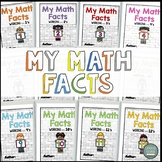 Math Facts Kids Theme (Multiplication Fact Intervention) T