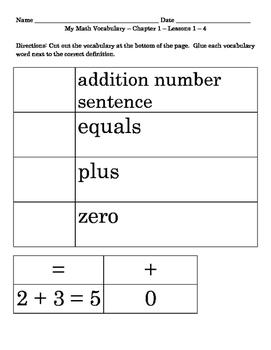 My Math First Grade