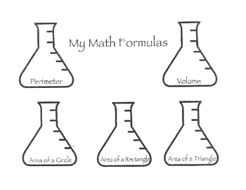My Math Formulas