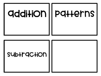 My Math Games Folder