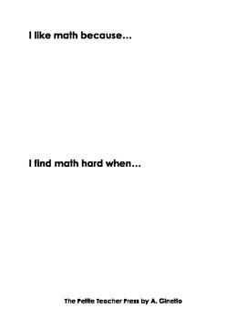 My Math Journal