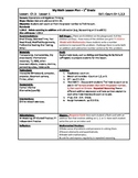 My Math (McGraw-Hill) Grade 1 Chapter 3 Lesson Plans - 2013 edition