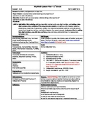 My Math (McGraw-Hill) Grade 1 Chapter 6 Lesson Plans