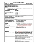 My Math (McGraw-Hill) Grade 1 Chapter 7 Lesson Plans - 201
