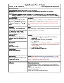 My Math (McGraw-Hill) Grade 1 Chapter 9 Lesson Plans - 201