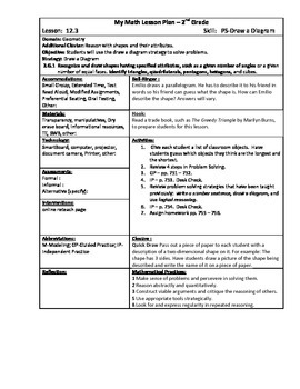 My Math (McGraw-Hill) Grade 2 Chapter 12 Lesson Plans
