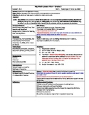 My Math (McGraw-Hill) Grade 2 Chapter 3 Lesson Plans - 2013 edition
