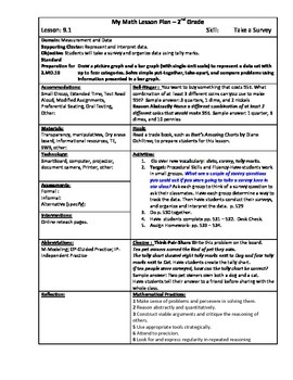 My Math (McGraw-Hill) Grade 2 Chapter 9 Lesson Plans
