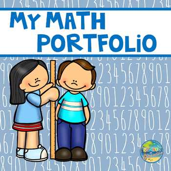 My Math Portfolio:  Preschool Edition