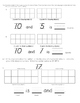 My Math Post Test Chapter 7 Composing and Decomposing Numb