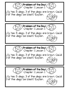 My Math Problem of the Day - Grade 3