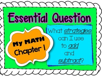 My Math Second Grade Essential Questions