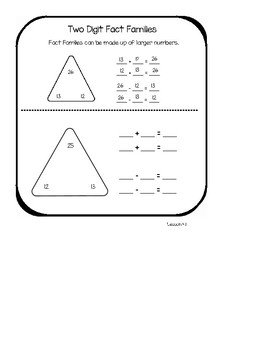My Math Student Math Journal Pages Chapters 4-6- second grade