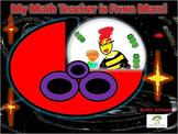 My Math Teacher is From Mars - Book