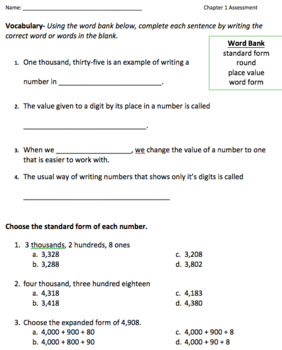 McGraw-Hill My Math Grade 3 Ch 1
