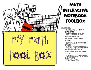 my math tool box by jessica cole teachers pay teachers