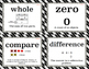 My Math Vocabulary Posters 5.5-4.18 inches