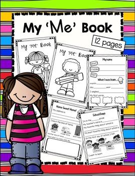 "My ""Me""Book"